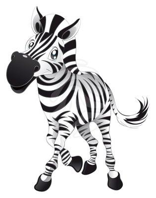 Cute zebra clipart free images 2