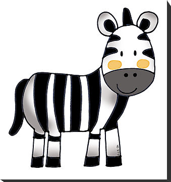 Cute zebra clipart free images 3