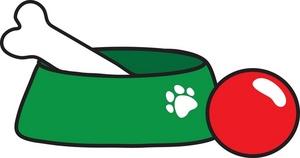 Dog bone border clip art free clipart images