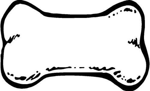 Dog bone chew clip art images free clipart image 3 8