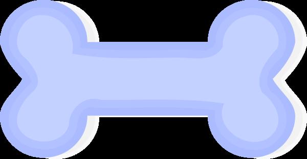 Dog bone vector clip art 5