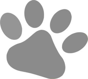 Dog paw gallery for clip art dog prints free 2 image