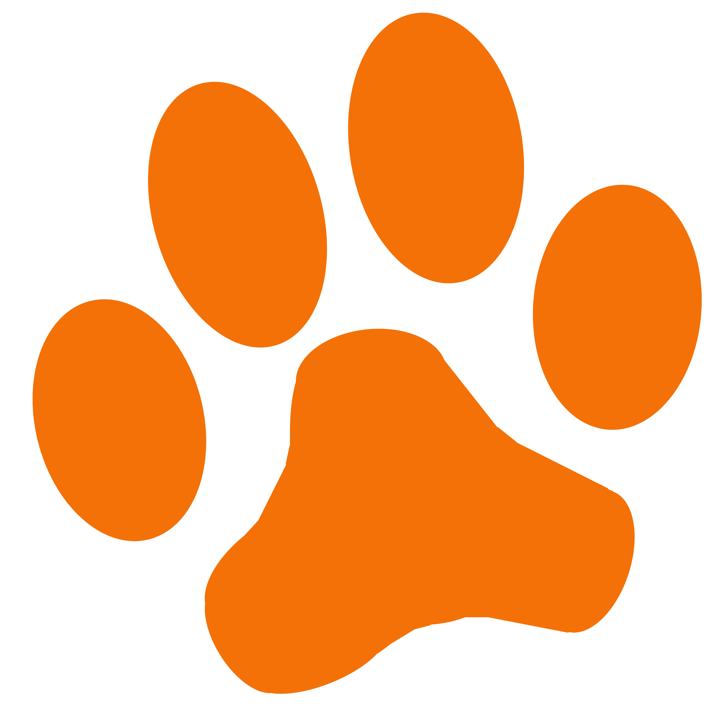 Dog paw paw clipart 2