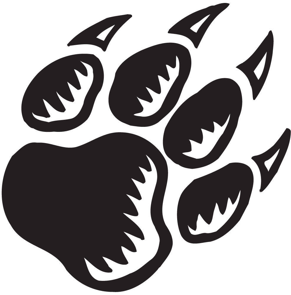 Dog paw print stamps dog prints clip art 4