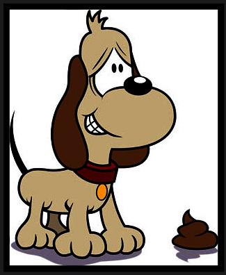 Dog poop clip art 2