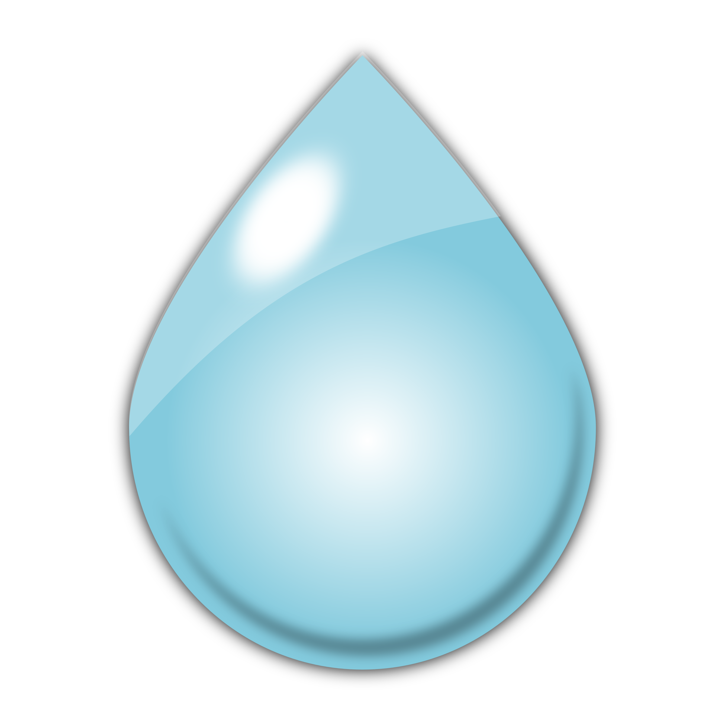 Drawings of raindrops clipart