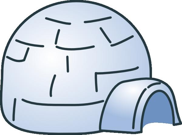 Eskimo igloo clipart 3