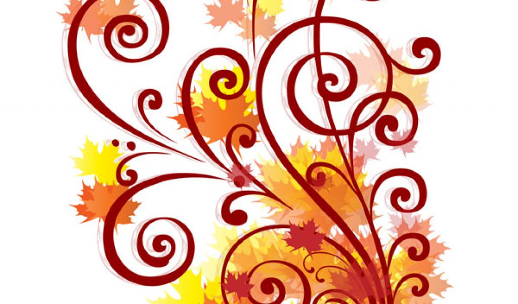 Fall border fall clip art borders free