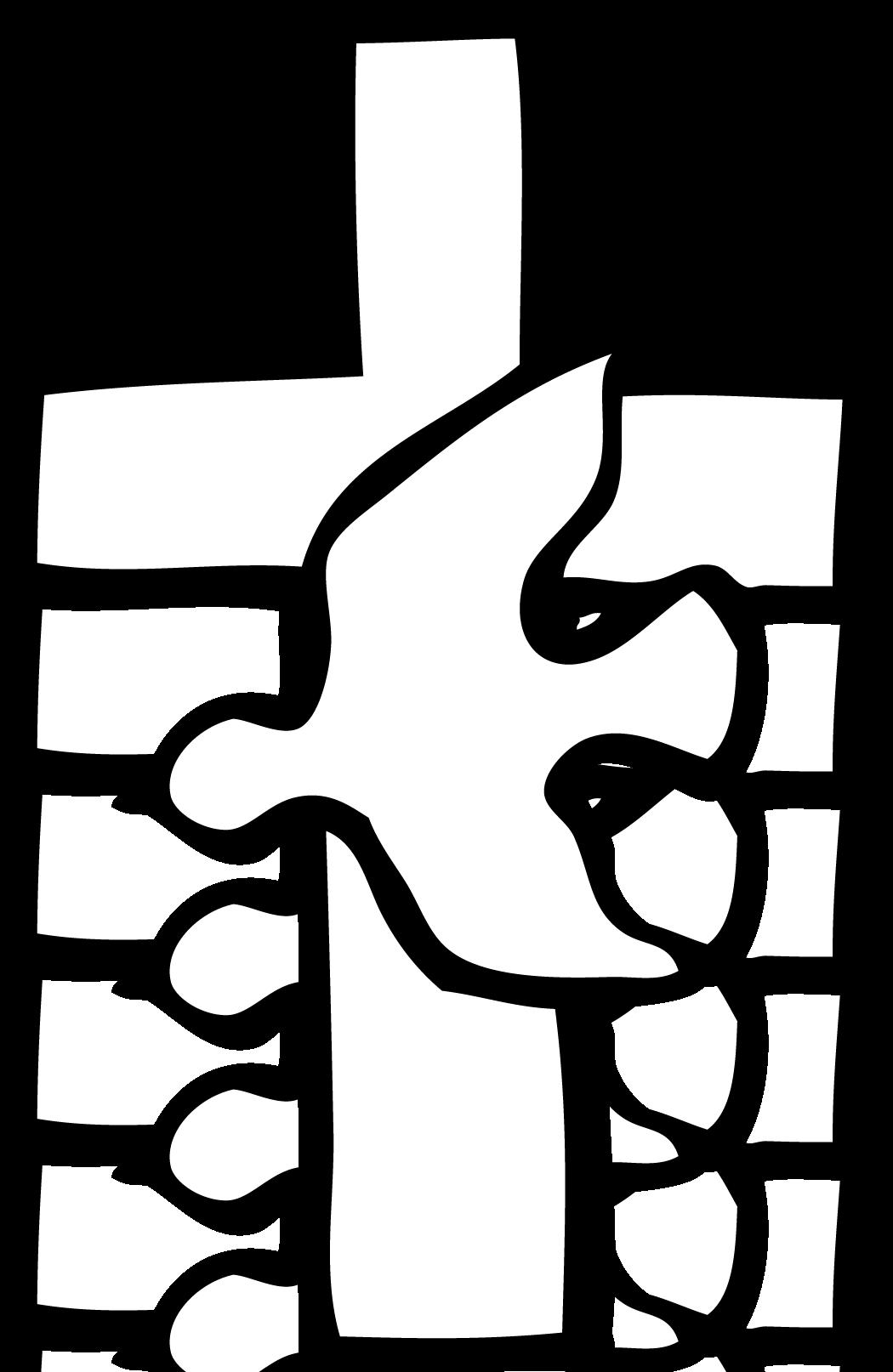Fancy cross clipart