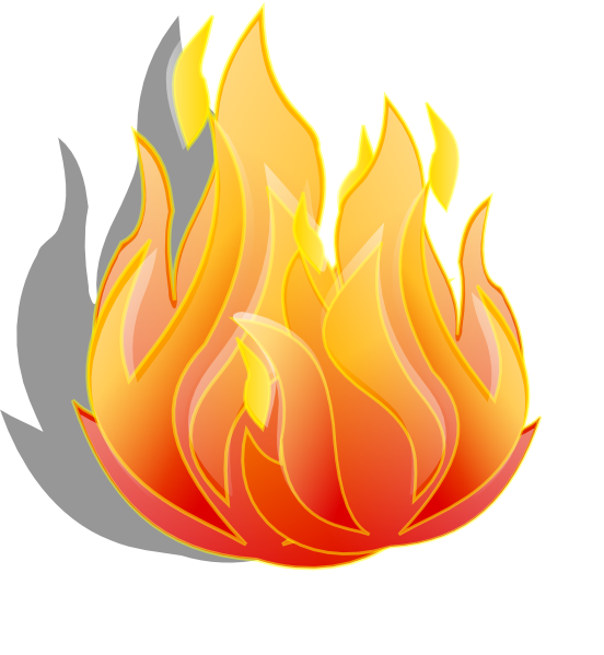 Fire flame clip art free vector for download about 3 4 2