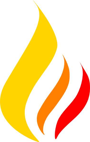 Fire flames clipart free images 2
