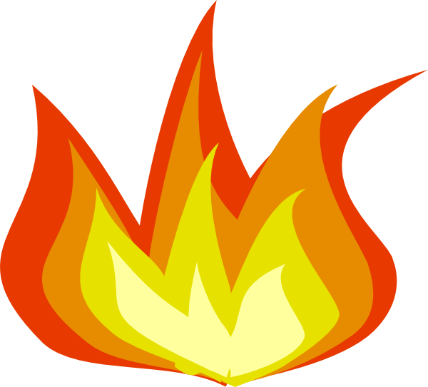 Fire flames clipart free images