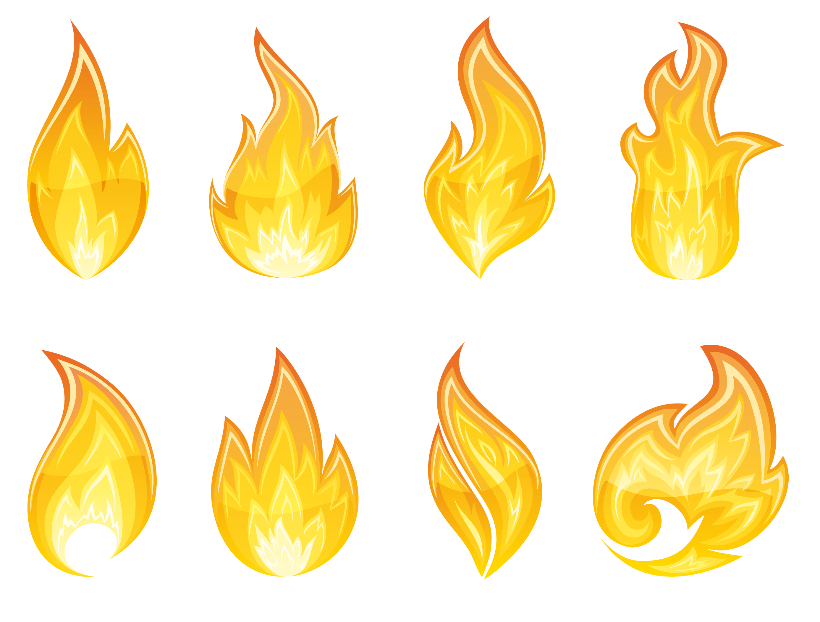 Flame clip art free clipart images 3 3
