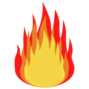 Flame clip art free clipart images 3