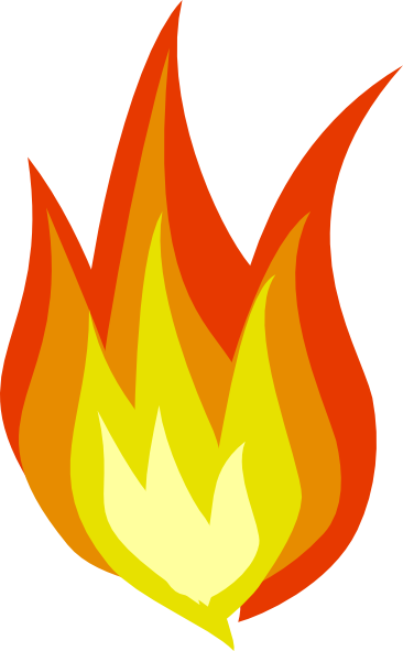 Flame clip art free clipart images 5