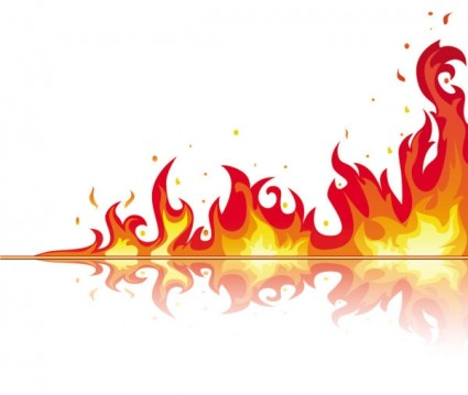 Flame clipart free images 2