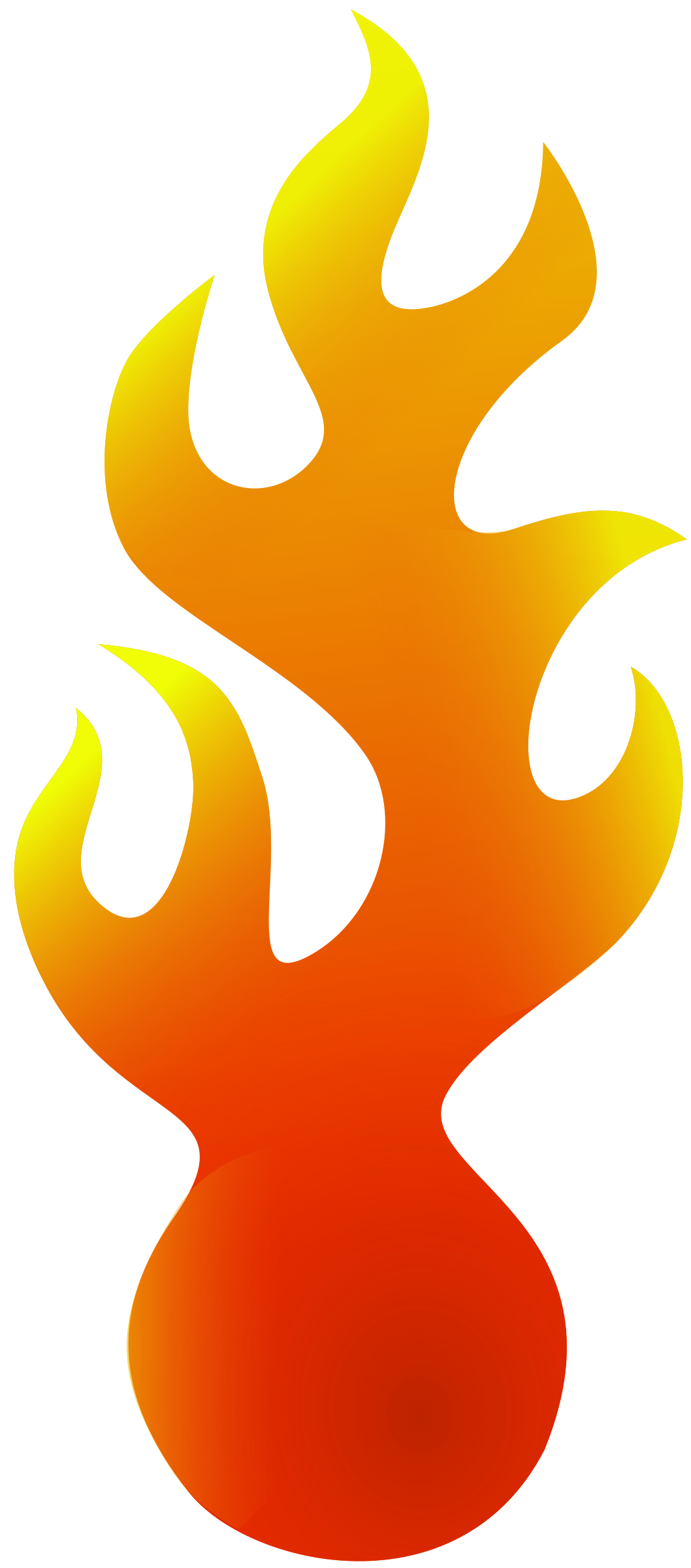 Flame clipart free images 3