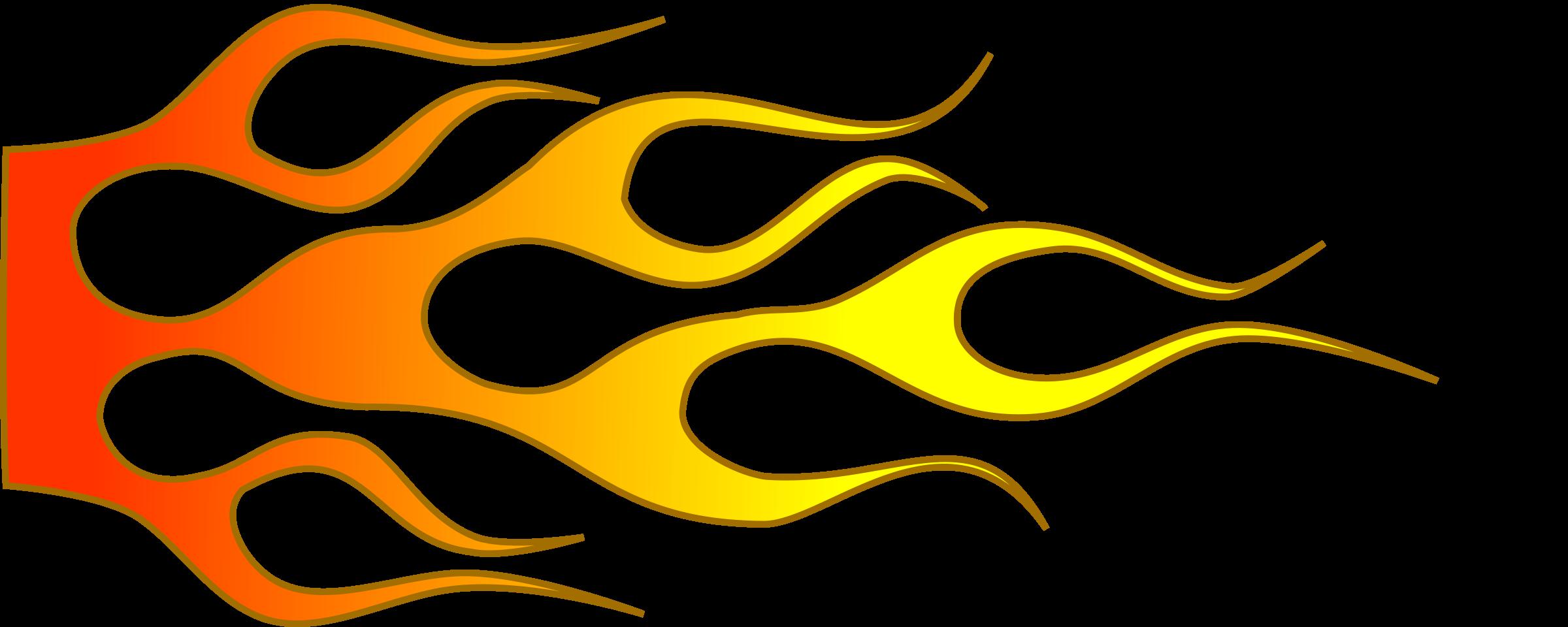Flame logo designs clipart