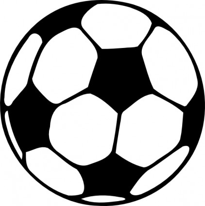 Football ball clip art free vector in open office drawing svg