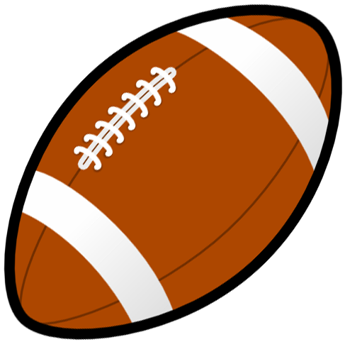 Football clipart black and white free images