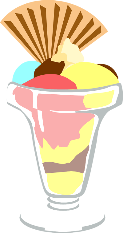 Free clip art ice cream sundae clipart 2