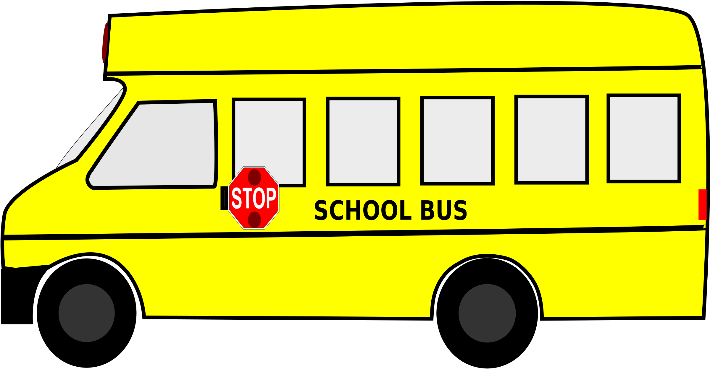 Free clip art school bus clipart images 11