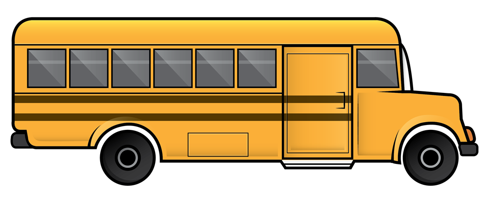 Free clip art school bus clipart images 13