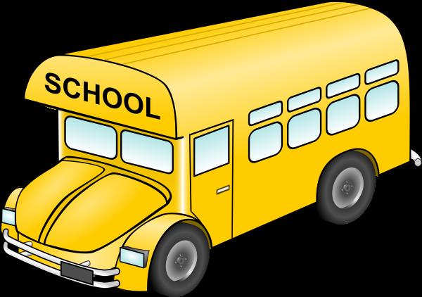 Free clip art school bus clipart images 15