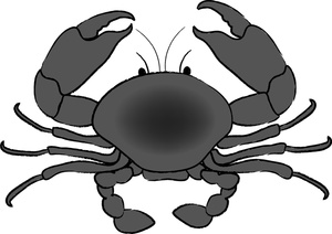 Free crab clipart 3