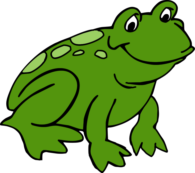 Free frog clipart 3