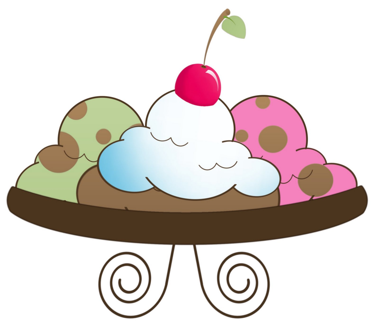 Free ice cream sundae clipart the cliparts