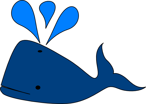 Free whale clipart the cliparts