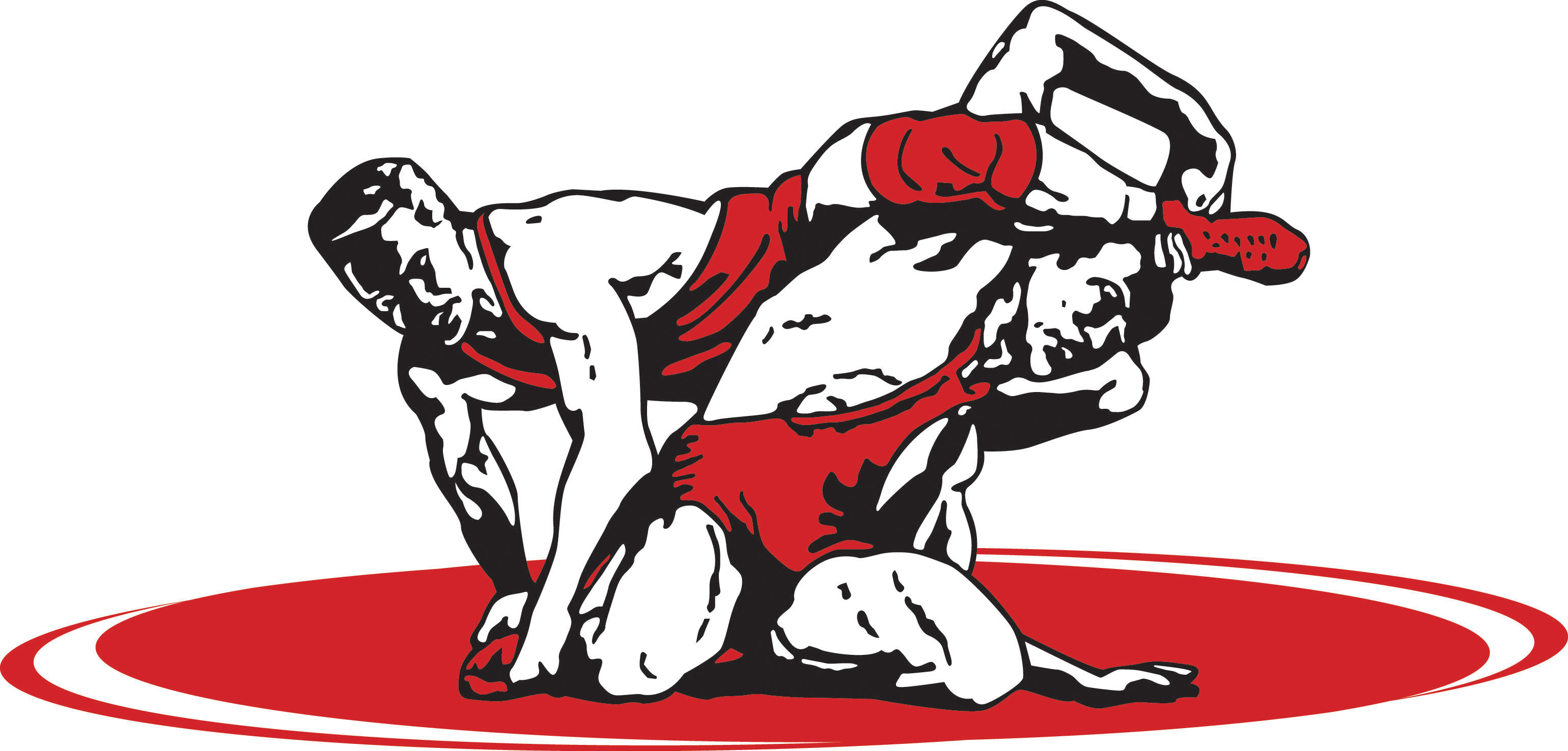 Free wrestling clipart free images