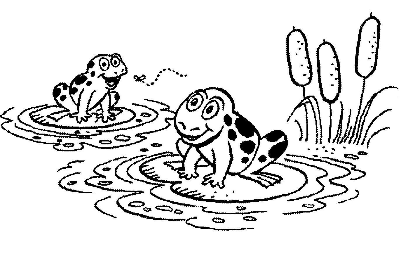 Frog  black and white cute frog clip art black and white free clipart