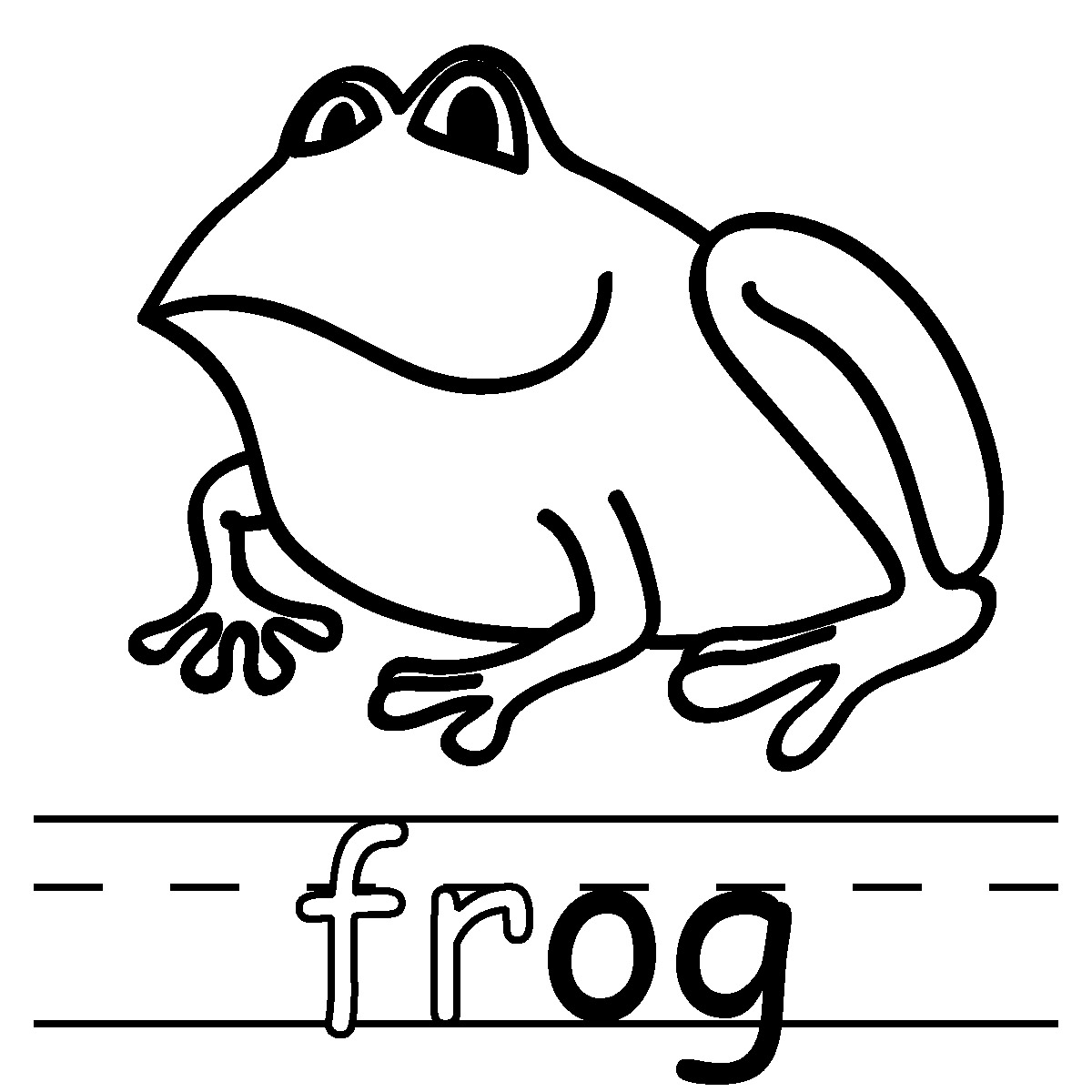 Frog  black and white frog clip art black and white free clipart images 5