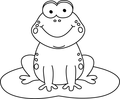 Frog  black and white image of frog clipart black and white and 2