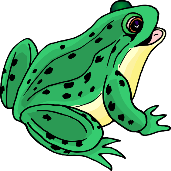 Frog clip art cartoon free clipart images