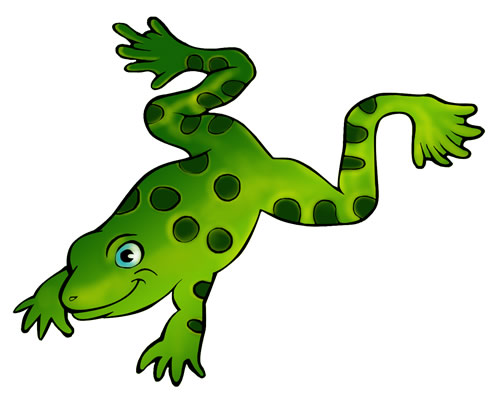 Frog clipart 2