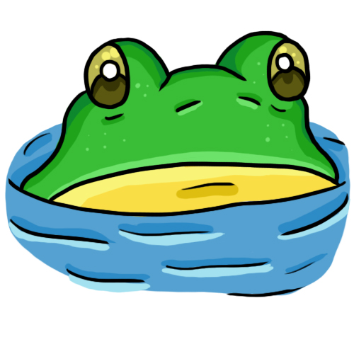 Frog clipart 3