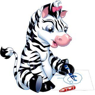 Funny cartoon zebra clip art zebra pictures clipart