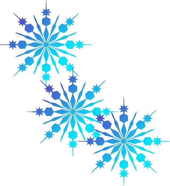 Google borders snowflake clipart