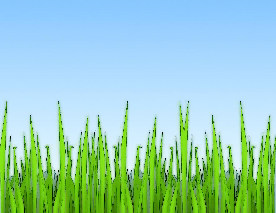 Grass clip art page horizontal school clip art