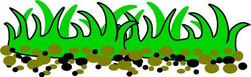 Grass clip art vector
