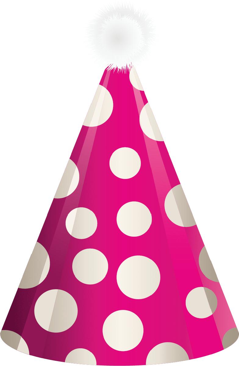 Happy birthday hat clipart 7