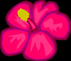 Hawaiian clip art borders floral images stock