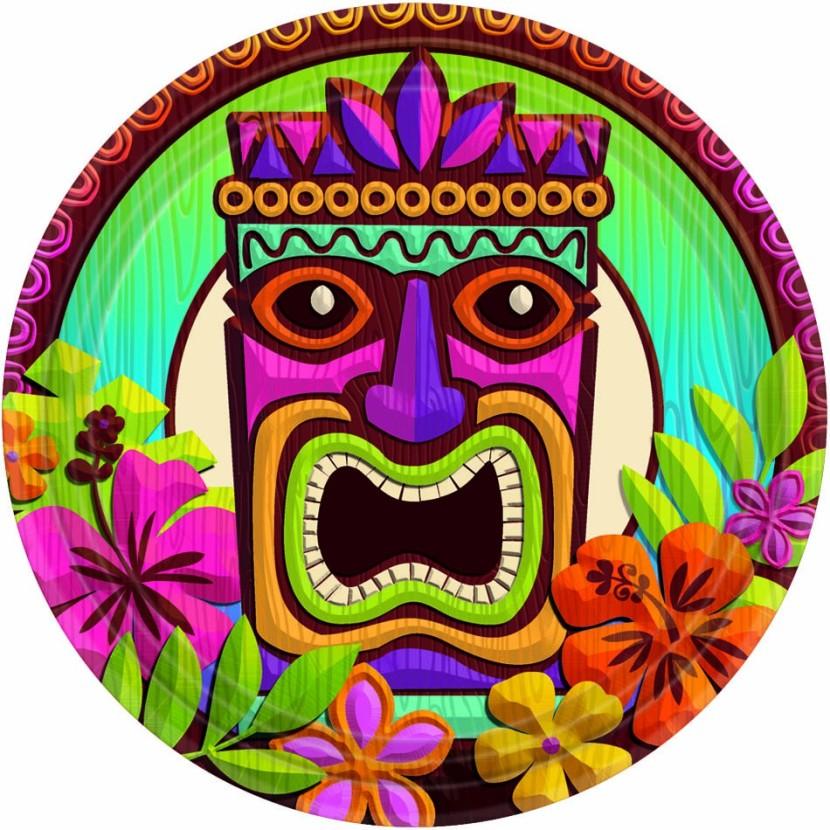 Hawaiian tiki clip art