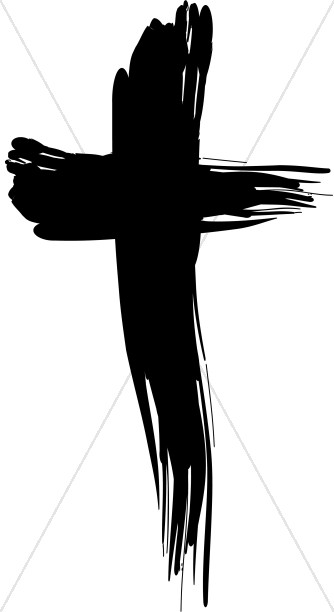 Healing from the cross clipart