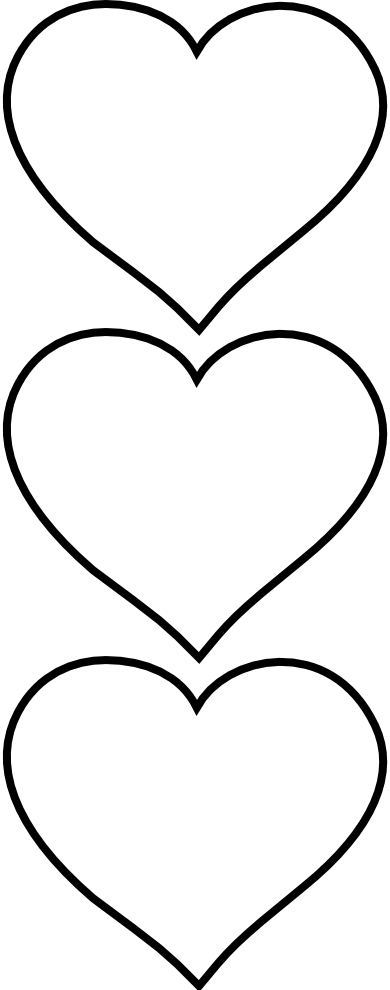 Heart clipart black and white black and white love heart picture frame clipart