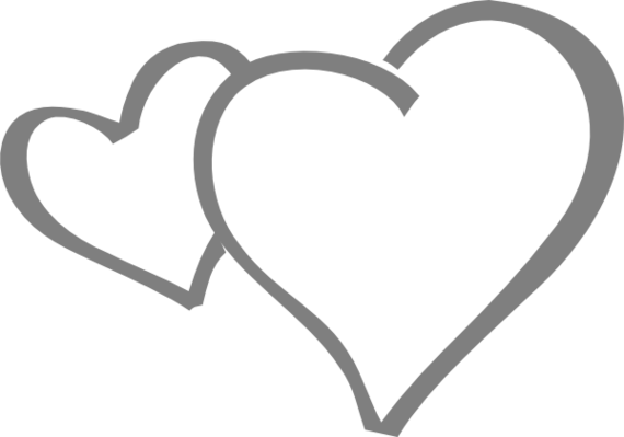 Heart clipart black and white heart black and white clip art clipart 3