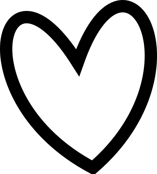 Heart clipart black and white heart black and white clip art clipart